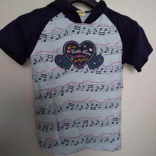 女児  半袖パーカーシャツ  size140  中古