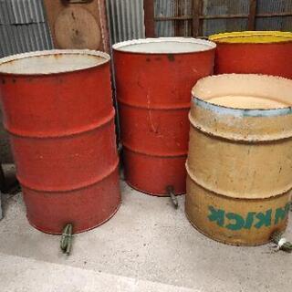 ドラム缶 5台