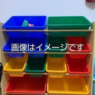 【取引中】(中古)おもちゃラック 収納ラック 組み立て式