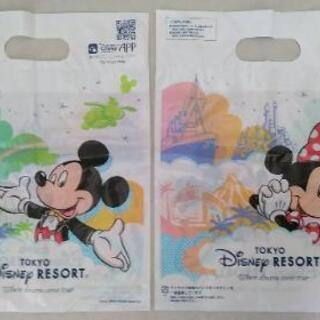【北区赤羽】未使用品!ディズニー ミッキー&ミニー ショップ袋