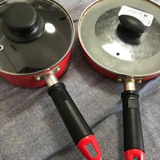 IH用(ガスもOK)フライパン+鍋 お譲りします