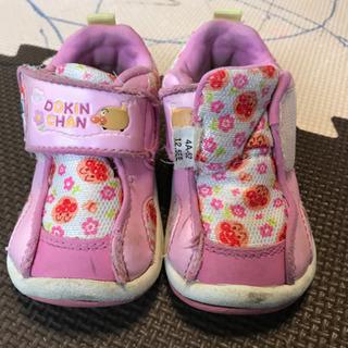 12.5cm 女の子 アンパンマン 靴