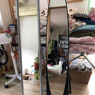 姿鏡!2つ!