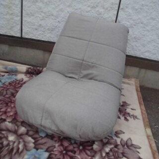 JM7199) 座椅子 リクライニング  (グレー) 幅:約60...
