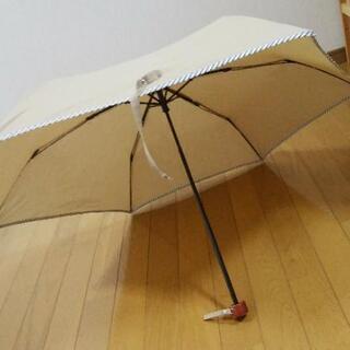 折りたたみ USED ベージュ 日傘