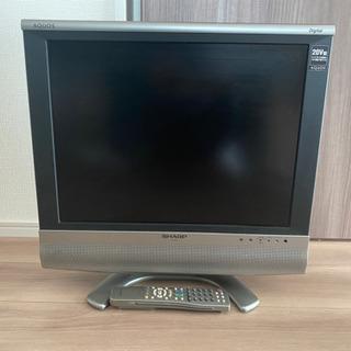 【SHARP】液晶テレビ 20インチ