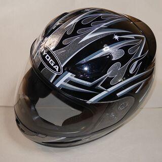 フルフェース ヘルメット RYOGA サイズ:XL ブラックグラ...