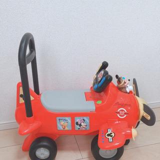 ミッキー 乗用玩具 押車