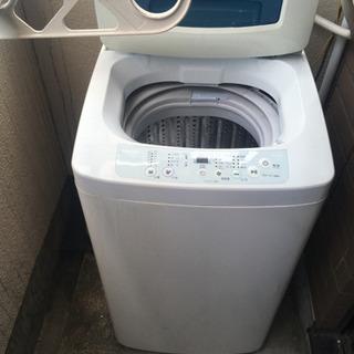 中古洗濯機 Haier JW -K42Hを譲ります