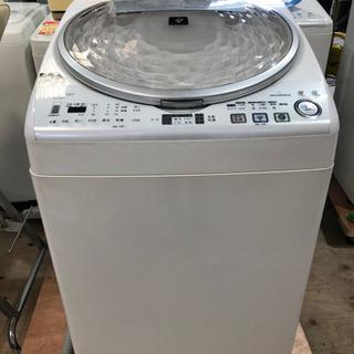 シャーププラズマクラスター洗濯乾燥機 8Kg ES-TX810