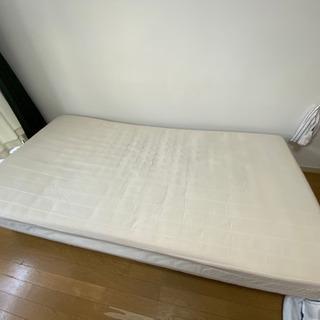 ベッド差し上げます シングル脚付マットレス