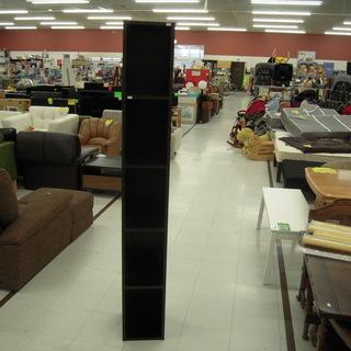 5段カラーボックス 幅25×奥行29×高さ180cm 木製収納棚...
