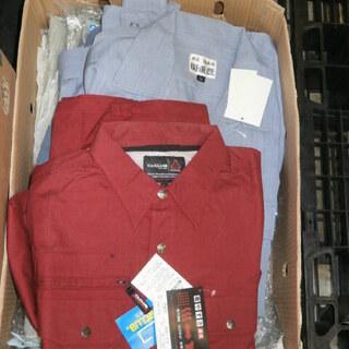 新品 格安 作業服 作業着 各種 サイズ・色多種 ほぼ単品ですが...