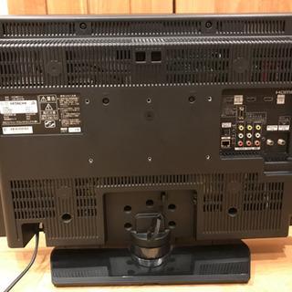 テレビとデスクチェア