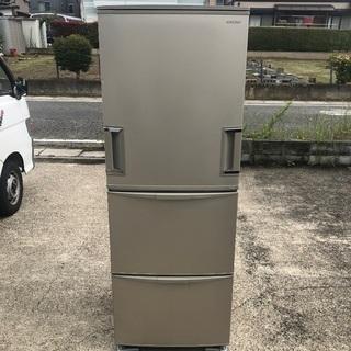 ファミリー向け 345L どっちもドア冷蔵庫 SHARP SJ-WA35R