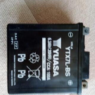ユアサ バッテリー YTX7L-BS