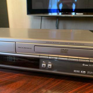 VHS DVD レコーダー デッキ Panasonic