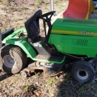 芝刈機(乗用タイプ)、草刈り機 ジャンク扱いで
