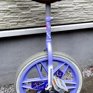 ブリヂストン一輪車18インチ(パープル)