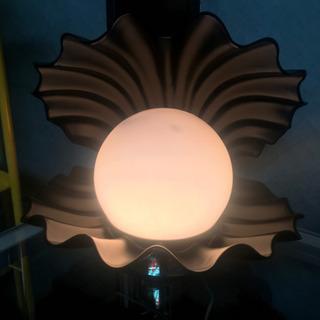 インテリア 照明 オーロラ調光 真珠 貝型 ランプ ライト レト...