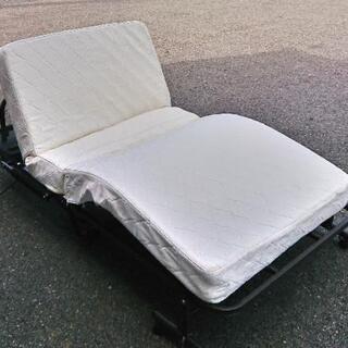 ニトリ製  電動折りたたみベッド  2012年製  100×41...