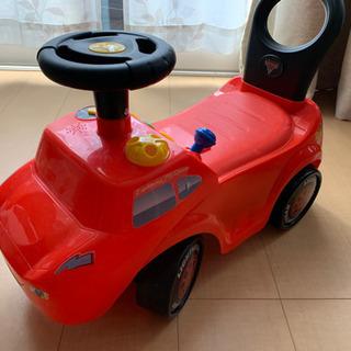 カーズ 足蹴りカート モーター走行も可能です
