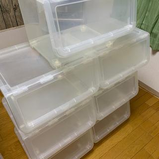 スタックボックス 衣装ケース 大7 ボックス 収納ケース