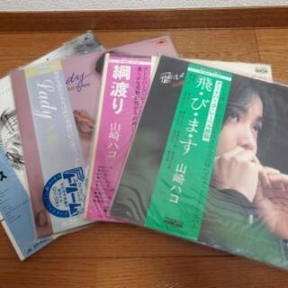 中島みゆき、水越けいこ、山崎ハコ レコード