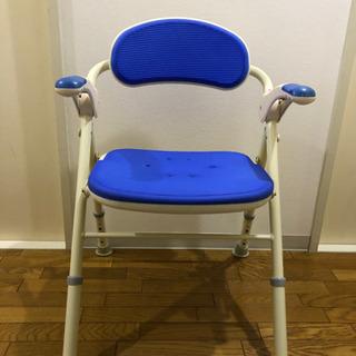 介護用品 折りたたみ風呂用椅子 取扱説明書有
