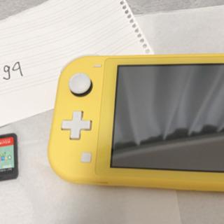 Switch Lite イエロー本体&あつ森ソフト本体