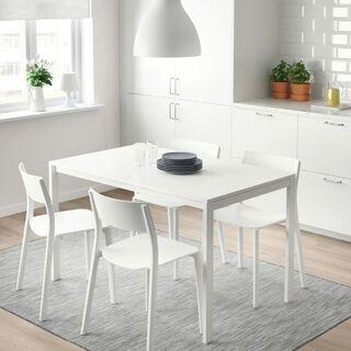 IKEA イケア、MELLTORP メルトルプ ダイニングテーブ...