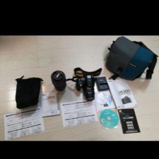 NikonD5300一眼レフカメラ(望遠レンズ&カメラケース付き)