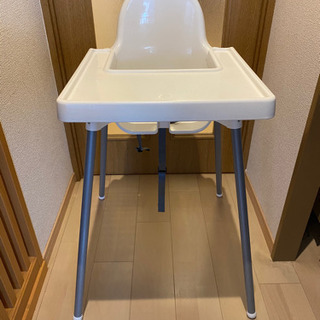 IKEAのテーブル付きベビーチェア