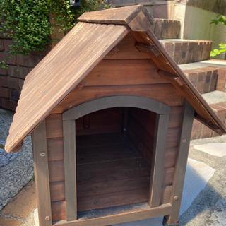 犬小屋 ペット用品 屋外 木製