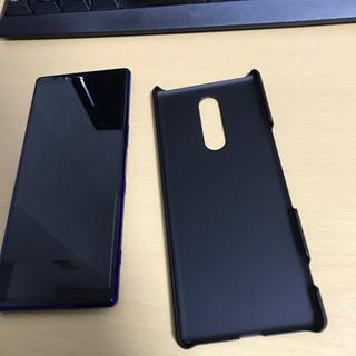 定価10万超え 大幅値下げ Xperia1 ほぼ新品 パープル ...