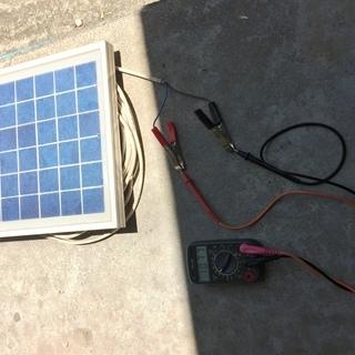 【済】ソーラーパネル6V系8W【ホビー用】 − 石川県