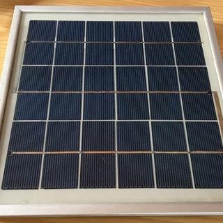 【済】ソーラーパネル6V系8W【ホビー用】
