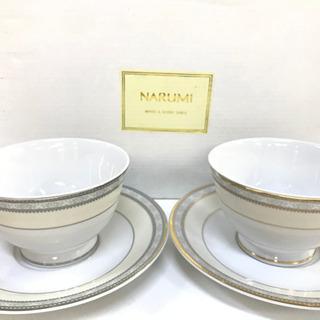 NARUMI ナルミ コーヒーカップ&ソーサー 2客セット