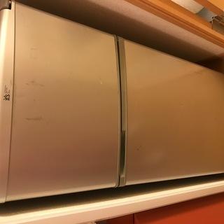 中古品 冷蔵庫さしあげます!