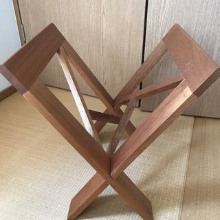 マガジンラック木製