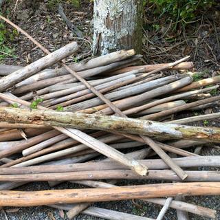 木材無料!薪などに。
