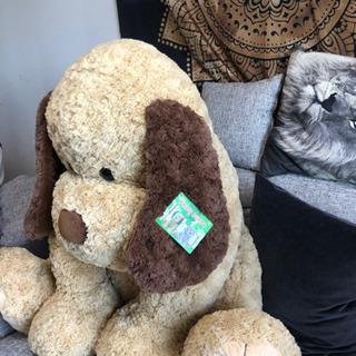 【無料】大きいクマのぬいぐるみ