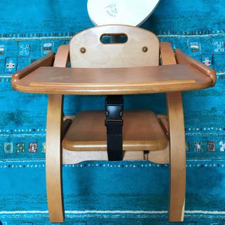 ベビーチェア アーチ 木製 ローチェア 子供 テーブル付き 江戸川区