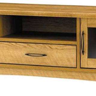 ウッド調テレビボード 115cm