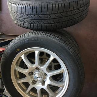 5穴、ホイール、タイヤ4本セット185/65R15、ラフェスタ他