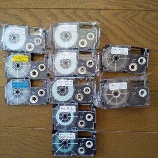 CASIO  ネームランド テプラテープ10本