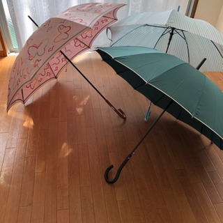 女性用の雨傘3本セット①さしあげます。