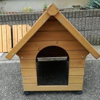 犬小屋屋外