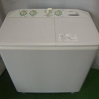 サンヨー SANYO 二層式洗濯機 SW-350F2(H) 中古...