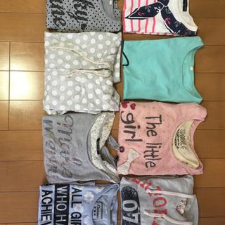 130㎝〜140㎝の女児用Tシャツ